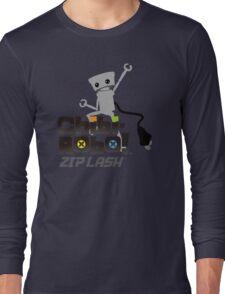 Chibi-Robo : Zip Lash Long Sleeve T-Shirt