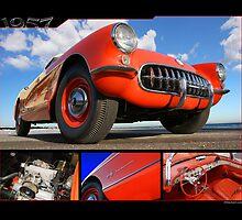 1957 Corvette by 454autoart