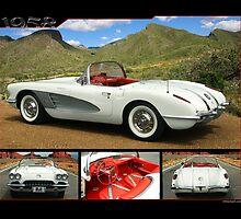 1958 Corvette by 454autoart