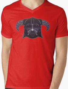 Darth-Dovahkiin Mens V-Neck T-Shirt