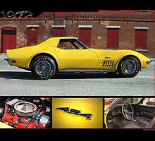 1972 Corvette by 454autoart