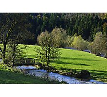 River Nore, Inistioge, County Kilkenny, Ireland Photographic Print