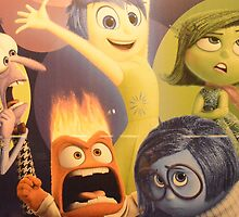 Disney Inside Out Characters Pixar Inside Out Characters by notheothereye