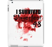 I Survived Slayerfest 98 iPad Case/Skin