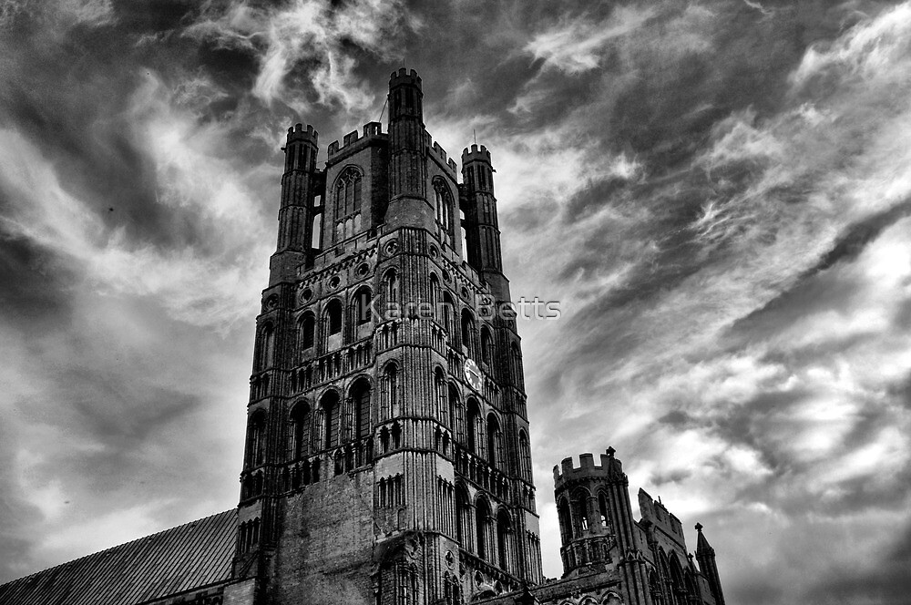 Strength be within, Ely Catherdral Cambridgshire by Karen  Betts