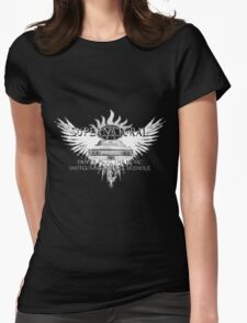 Supernatural driver picks the music 2QAW Womens Fitted T-Shirt