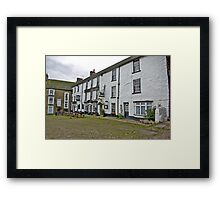 The Black Bull Hotel - Reeth Framed Print