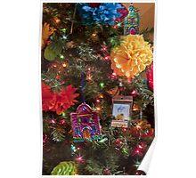 Tumacacori Christmas Tree Poster
