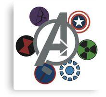 Avengers! Canvas Print