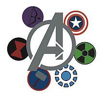 Avengers! Photographic Print