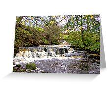 Waterfall #1 Greeting Card