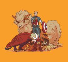 captain america pokemon by pokeworld