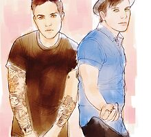 Pete and Patrick by deanngoc