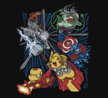 pokemon avengers T-Shirt