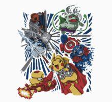 pokemon avengers Kids Clothes
