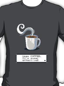 coffee pokemon title T-Shirt