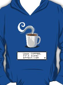 coffee pokemon title T-Shirt