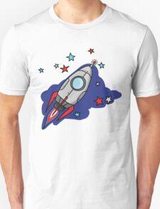Festive rocket Unisex T-Shirt