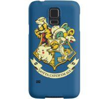 pokemon hogwarts logo Samsung Galaxy Case/Skin