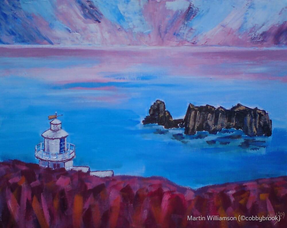 'Point Robert Lighthouse, Isle of Sark' by Martin Williamson (©cobbybrook)