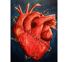 Guarded Heart Photographic Print