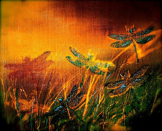 Dragonfly...Towards The Light 2 by © Janis Zroback