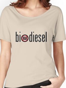 Biodiesel - no war Women's Relaxed Fit T-Shirt
