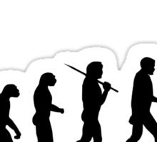 Evolution - jump Sticker