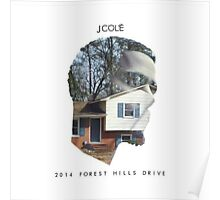 J. Cole - 2014 Forest Hills Drive Poster