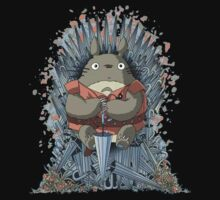 totoro thrones by pokeworld