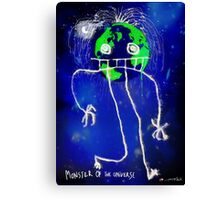 Monster of the Universe   Canvas Print
