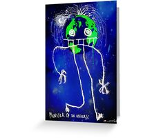 Monster of the Universe   Greeting Card