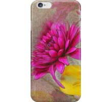 Fresh Flowers Painted iPhone Case/Skin
