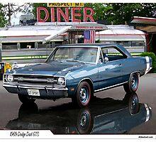 1969 Dodge Dart GTS Photographic Print