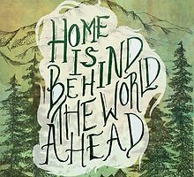 Home Is Behind by MoonandTrees