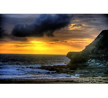 Day Break - Warriewood Beach - The HDR Experience Photographic Print