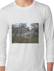 Coomba Falls, Maidenwell, Queensland Long Sleeve T-Shirt