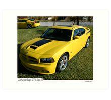 2007 Dodge Challenger SRT 8 Super Bee Art Print