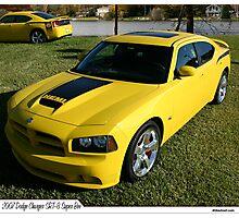 2007 Dodge Challenger SRT 8 Super Bee Photographic Print