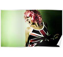 Brit Pop Princess Poster