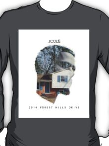 J. Cole - 2014 Forest Hills Drive T-Shirt