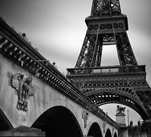 Tour de Eiffel by Randy  LeMoine