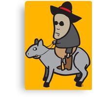 The tapir kid Canvas Print