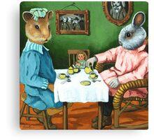 The Tea Party Canvas Print