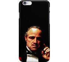God Father iPhone Case/Skin