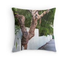 Embracing Nature Throw Pillow