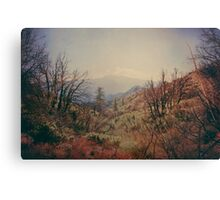 Living in Pass  Canvas Print