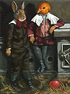 Friends - fantasy oil painting by LindaAppleArt