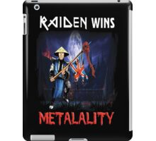 Raiden Wins Metalality iPad Case/Skin