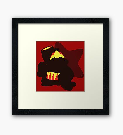 King Dedede (Kirby Version) - Sunset Shores Framed Print